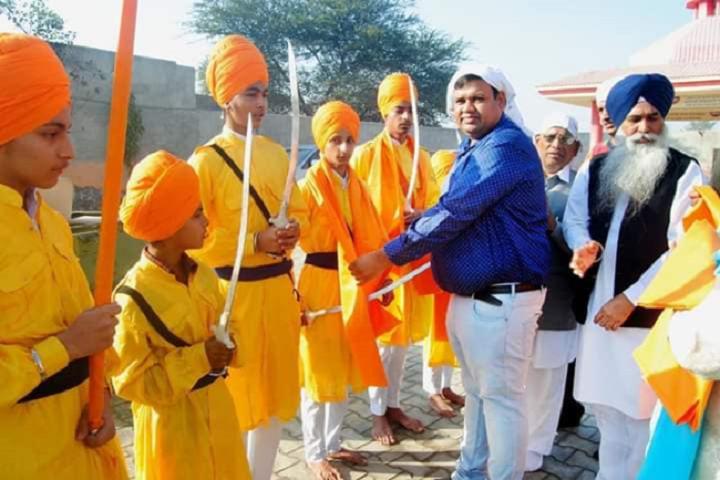 Mata Punna Devi Dav Public School-Skit