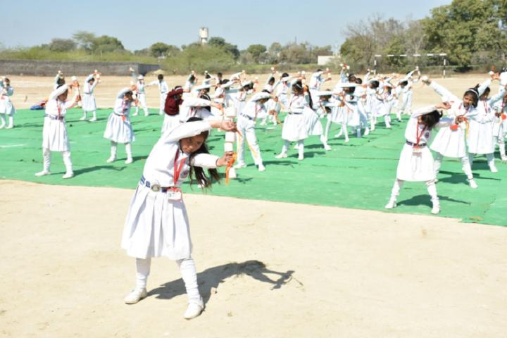 Mata Punna Devi Dav Public School-Yoga