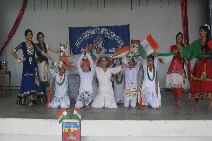 Mata Rukmani Rai Arya Girls Secondary School-Events republic day programme