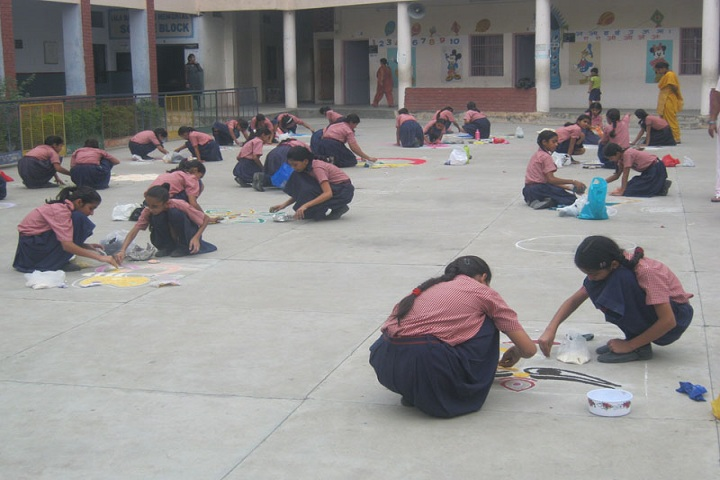 Mata Rukmani Rai Arya Girls Secondary School-Others rangoli