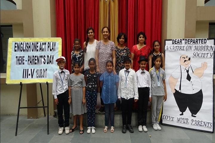 Meenakshi Public School-Act Play