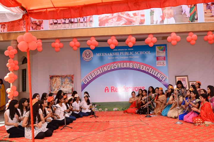 Meenakshi Public School-Celebrations