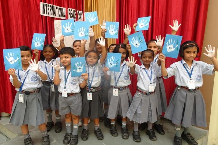 Meenakshi Public School-International Peace Day