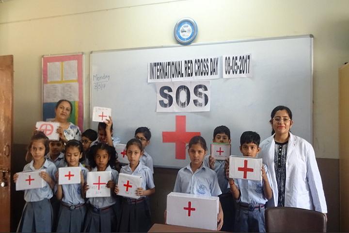 Meenakshi Public School-Red Cross Society