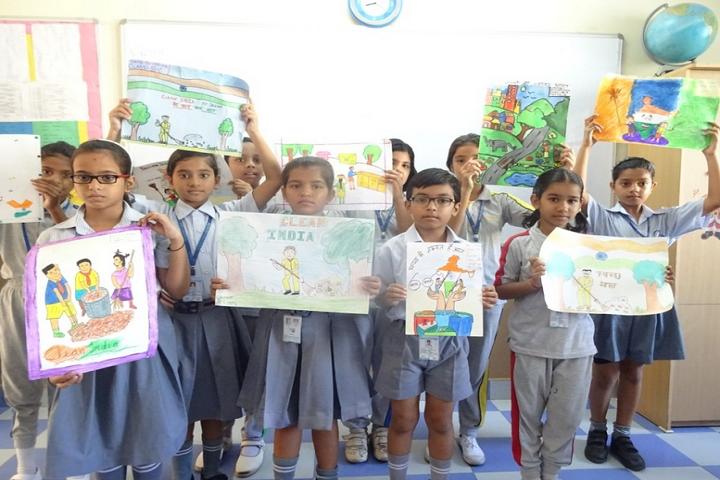 Meenakshi Public School-Swachhta