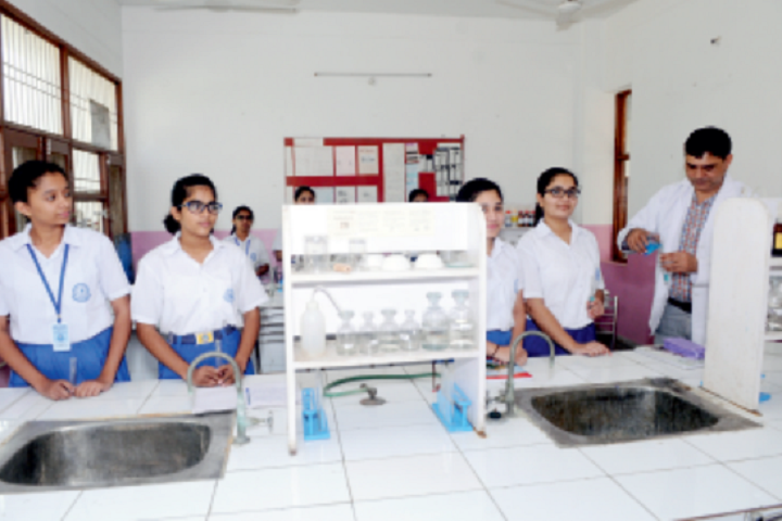 Model School Huda-Chemistry Lab