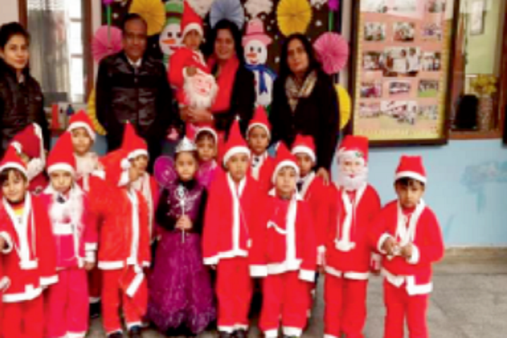 Model School Huda-Christmas Celebration