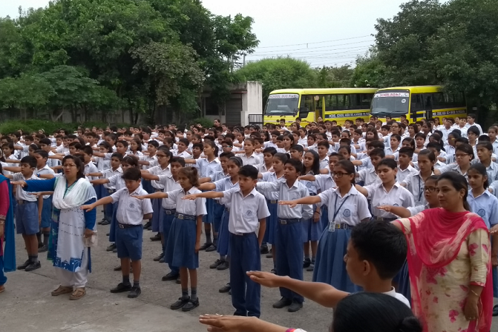 Model School Huda-Swachh Bharat Day