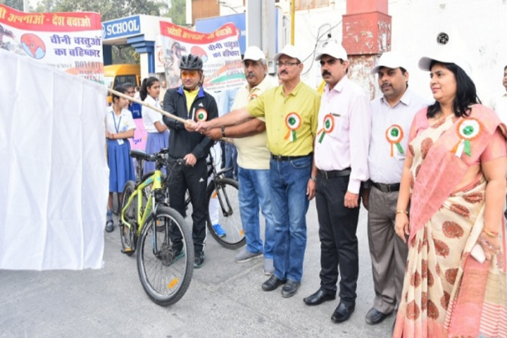 Model School Rohtak-Cycle Rally