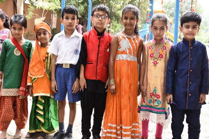 Model School Rohtak-Fancy Dress