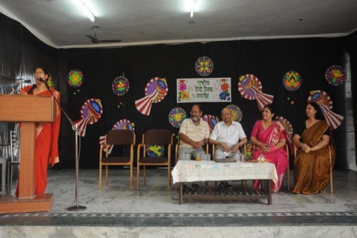 Model School Rohtak-Hindi Day
