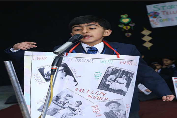 Model School Rohtak-Story Telling Competition