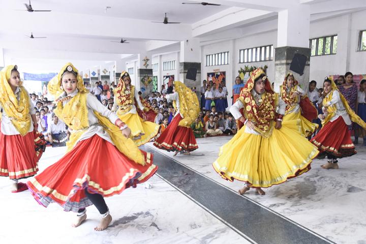 Model School Rohtak-Teej Celebrations