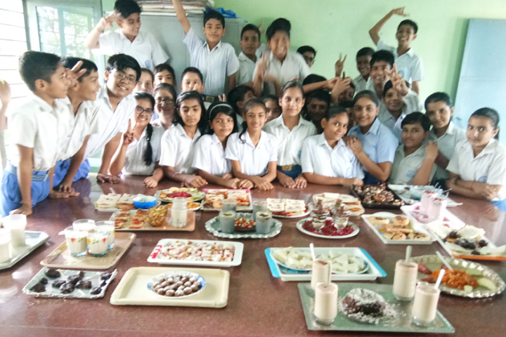 Model School Kalanaur-Cooking Class