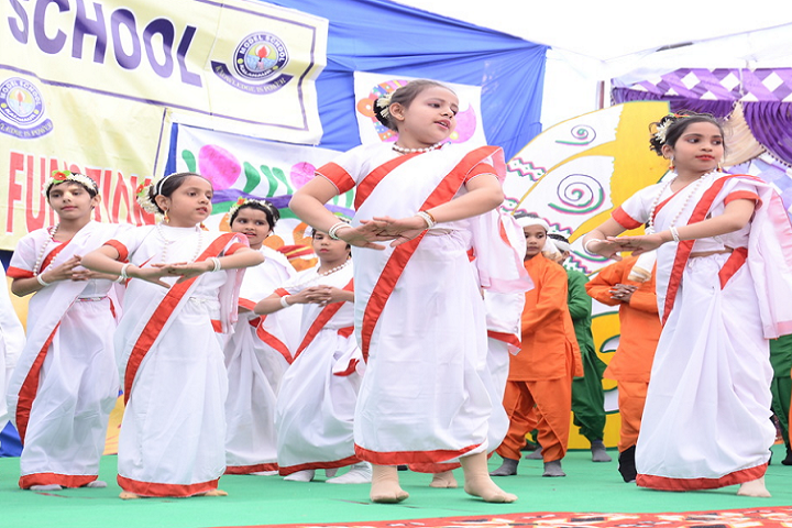 Model School Kalanaur-Dance