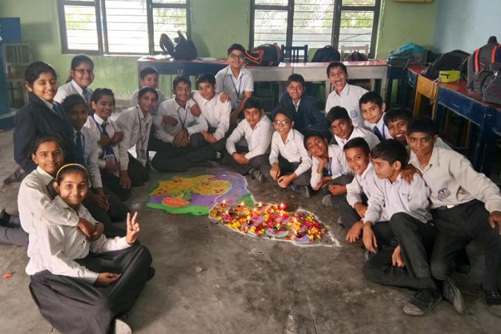 Model School Kalanaur-Diwali Celebrations
