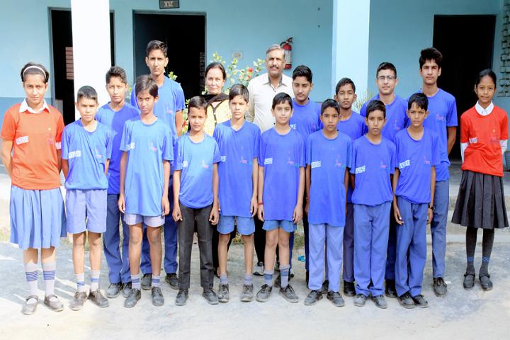 Model School Kalanaur-Marathon Participants