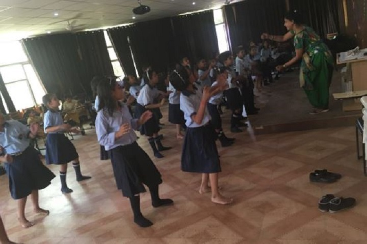 Modern Senior Secondary School-Dance-Room