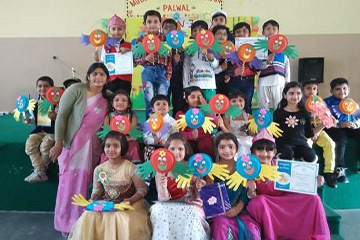 Modern Vidya Niketan School-Kids