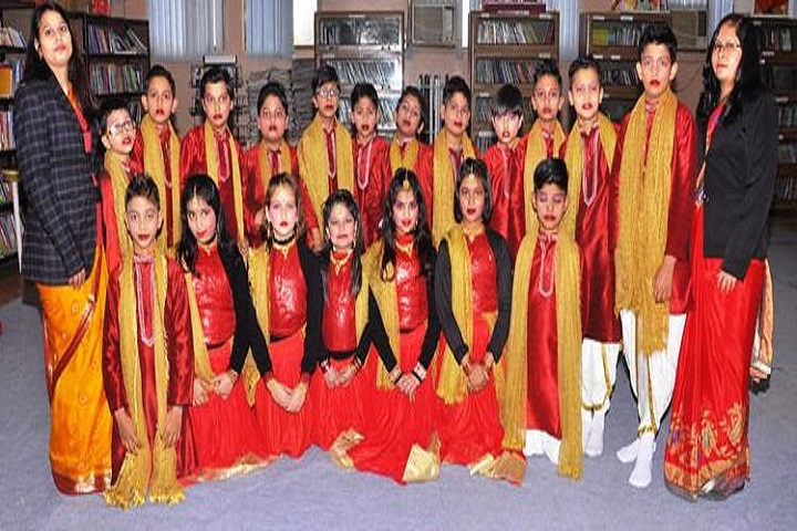 Modern Vidya Niketan School-Red Day