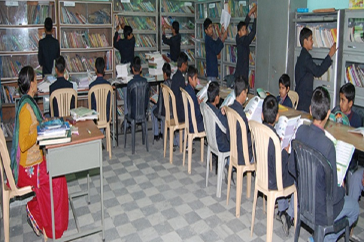 Mother India Senior Secondary School-Library