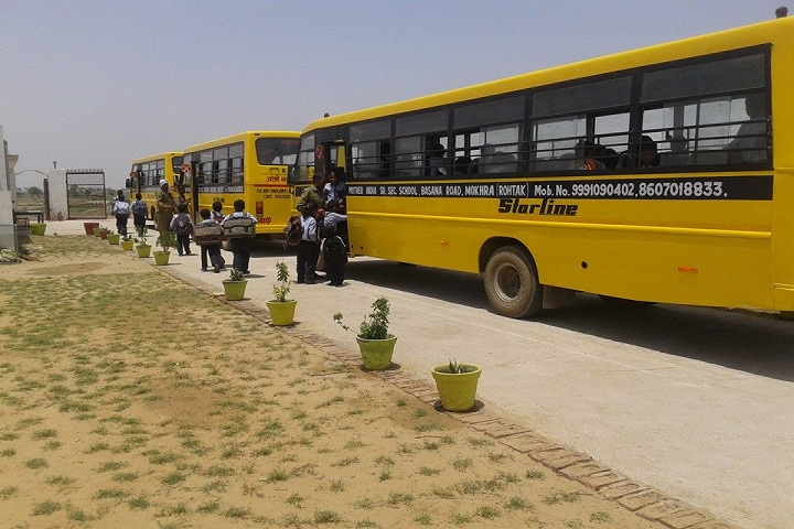 Mother India Senior Secondary School-Transport