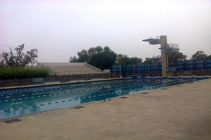 Motilal Nehru School Of Sports-Swimming pool