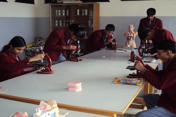 Mrcr Public School-Laboratory biology