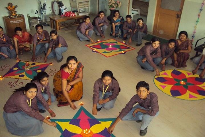 Mrcr Public School-Rangoli