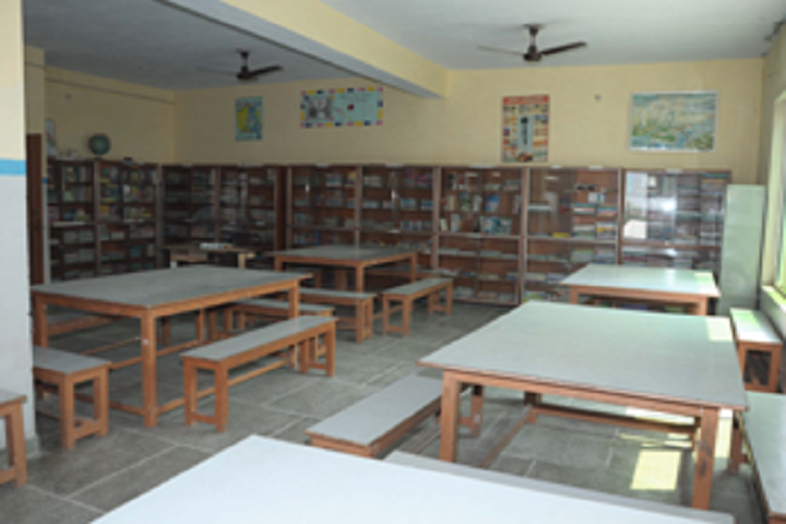 Mrcr Public School-Library with reading room