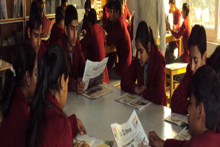 Mrcr Public School-Library