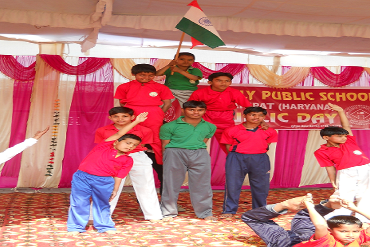 Nalwa Lovely Public School-Republic Day Celebration