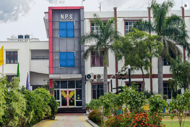 National Public School-Campus-Front View