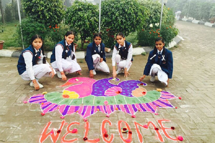 National Public School-Rangoli
