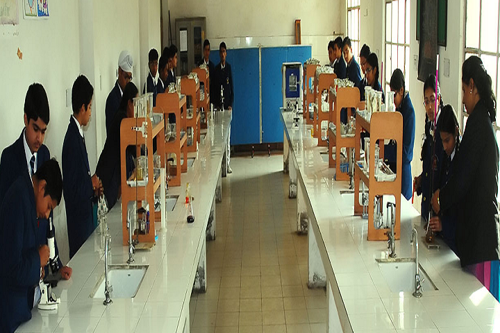 National Public School-Science Lab