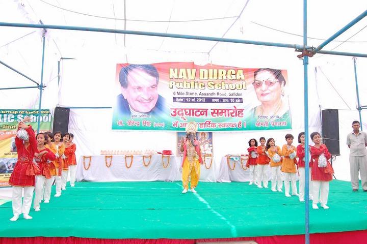 Nav Durga Public School-Celebration