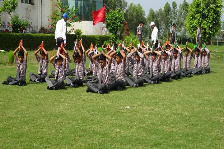 Nav Durga Public School-Yoga
