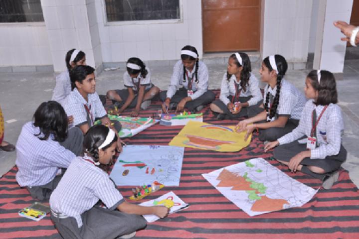 Navodya Vidya Niketan Senior Secondary School-Drawing Hour