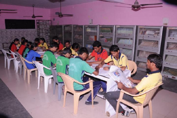 Navodya Vidya Niketan Senior Secondary School-Library