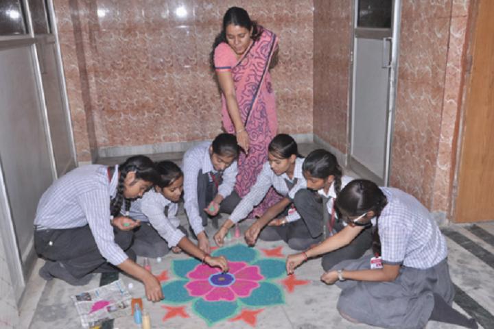 Navodya Vidya Niketan Senior Secondary School-Rangoli