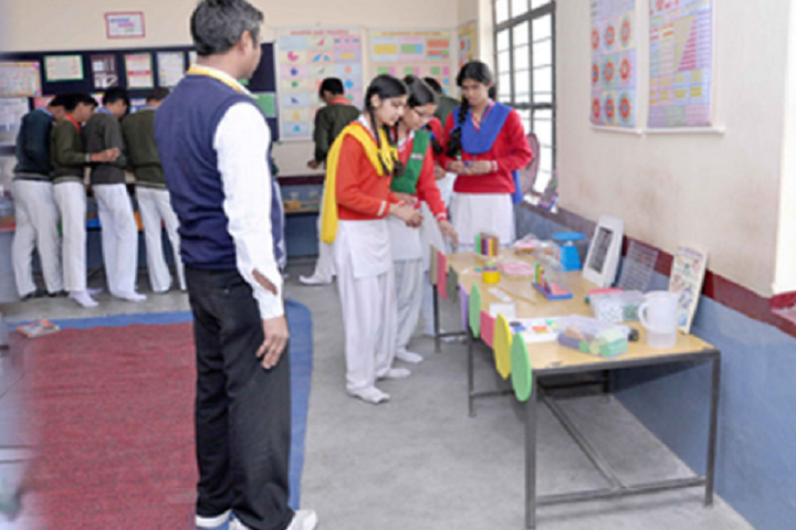 Navyug Senior Secondary School-Maths Lab