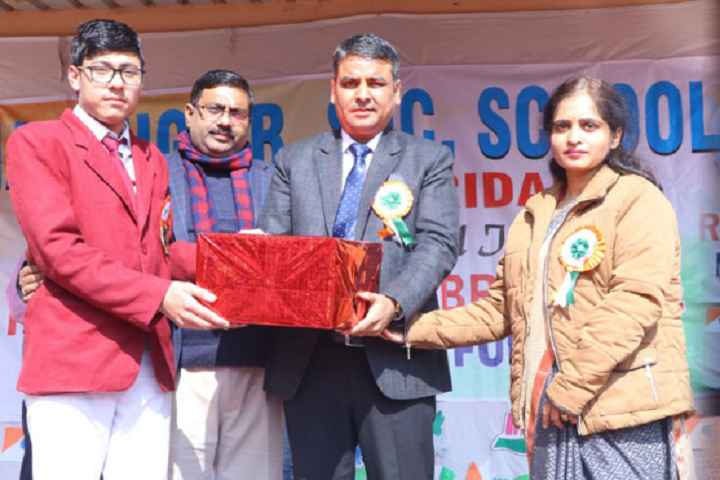 Navyug Senior Secondary School-Prize Distribution