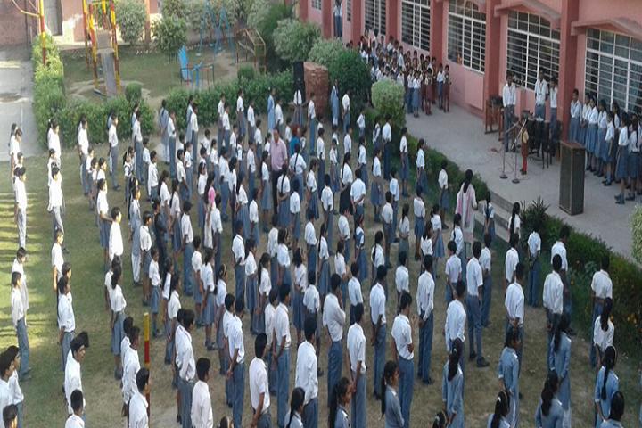 Nirmal Public School-Assembly