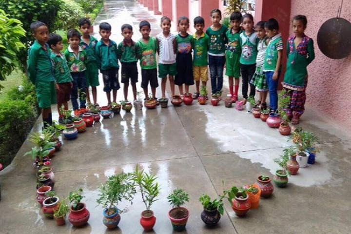 Nirmal Public School-Tree Plantation