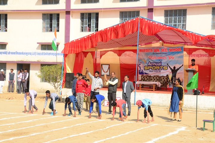 Nivedita Senior Secondary School-Running Race
