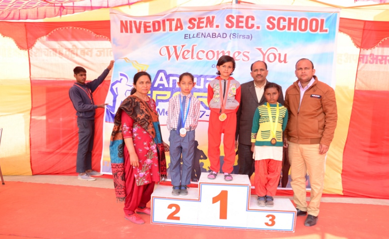Nivedita Senior Secondary School-Winners