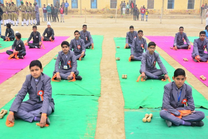 Nivedita Senior Secondary School-Yoga