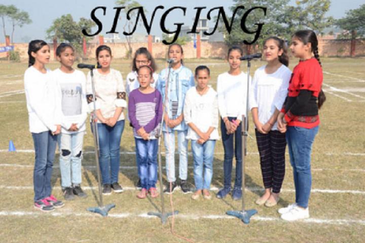 OPS International School-Singing