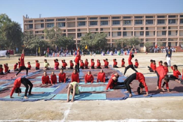 OS DAV Public School-Yoga