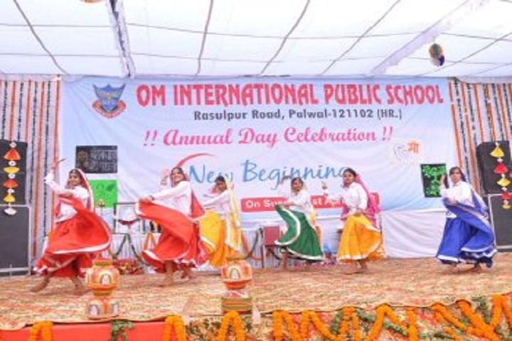 Om Internation Public School-Annual Day Celebration